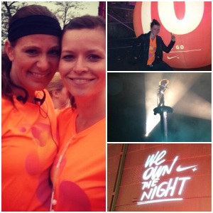 We own the night by nike