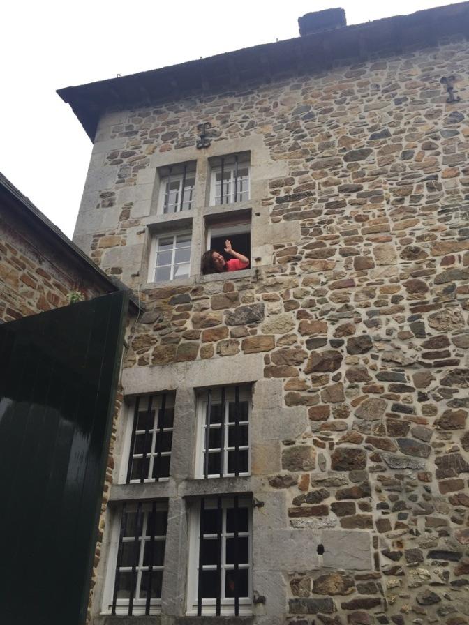 Queen of the castle in de Ardennen